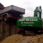 Grond-, weg- en waterbouw door Fred van de Laar BV uit Sint-Oedenrode
