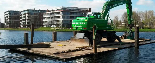 Aanleg Sonse Haven Fred van de Laar Grondbouw, Wegenbouw en Waterbouw uit Sint-Oedenrode