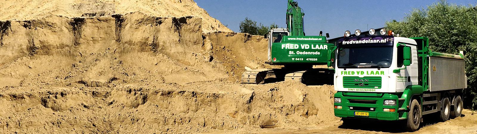 Bouwstoffen | Fred van de Laar Grond-, weg- en waterbouw uit Sint-Oedenrode
