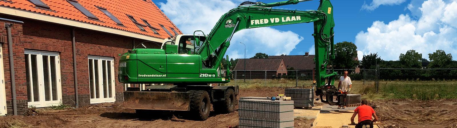 Grondverzet | Fred van de Laar Grond-, weg- en waterbouw uit Sint-Oedenrode
